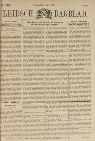Leidsch Dagblad 1893-07-03