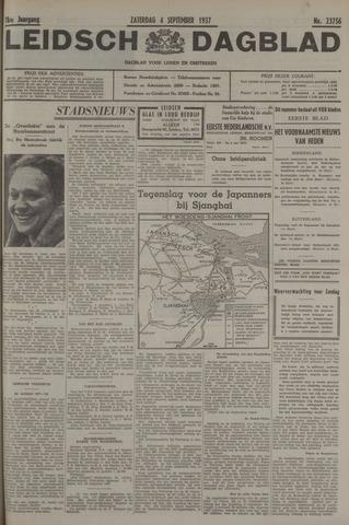 Leidsch Dagblad 1937-09-04