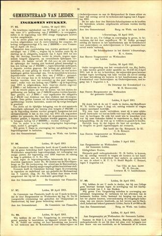 Handelingen van de Raad 1911-04-18