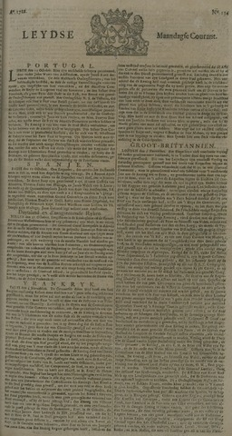 Leydse Courant 1722-11-09