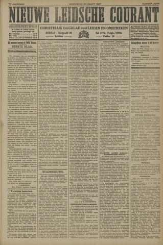 Nieuwe Leidsche Courant 1927-03-23