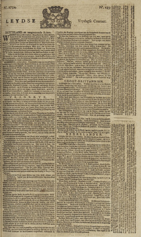 Leydse Courant 1754-12-13