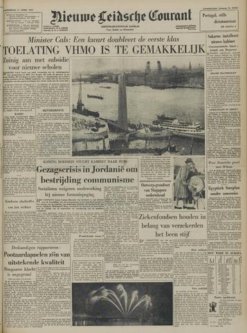 Nieuwe Leidsche Courant 1957-04-11
