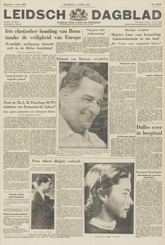 Leidsch Dagblad 1959-04-13