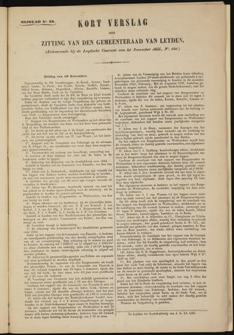 Handelingen van de Raad 1855-11-19