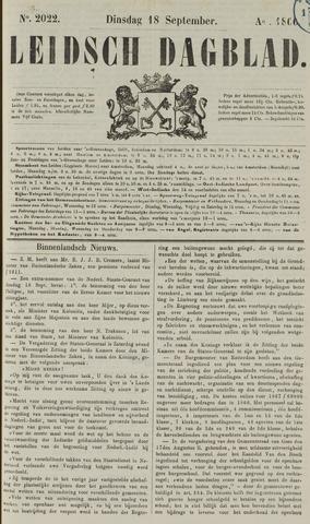 Leidsch Dagblad 1866-09-18