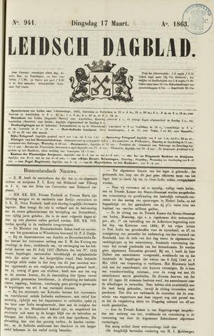Leidsch Dagblad 1863-03-17