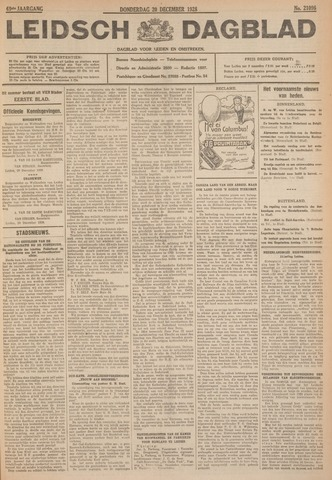 Leidsch Dagblad 1928-12-20