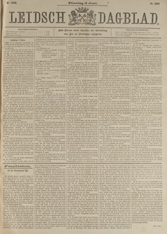 Leidsch Dagblad 1896-06-02