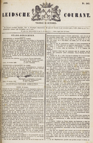 Leydse Courant 1882-10-20