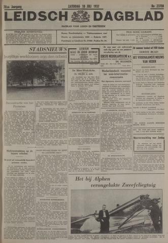 Leidsch Dagblad 1937-07-10