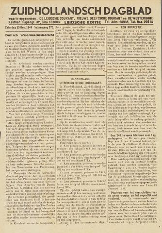 Zuidhollandsch Dagblad 1944-12-30