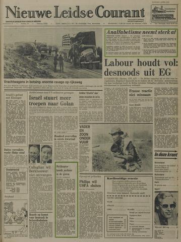 Nieuwe Leidsche Courant 1974-04-02