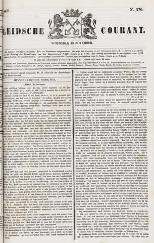 Leydse Courant 1871-11-15