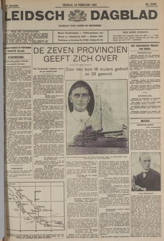 Leidsch Dagblad 1933-02-10