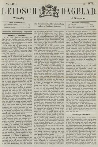 Leidsch Dagblad 1873-11-12