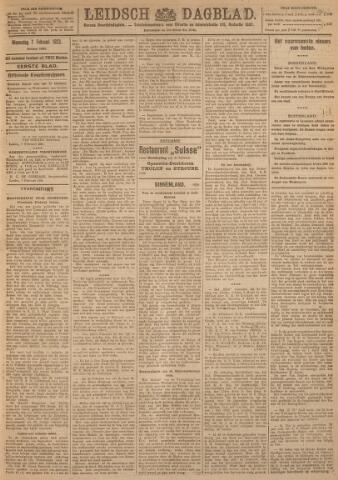 Leidsch Dagblad 1923-02-07