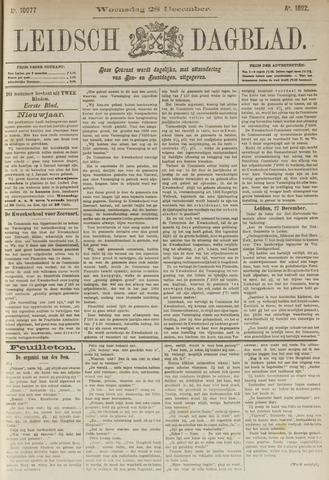 Leidsch Dagblad 1892-12-28