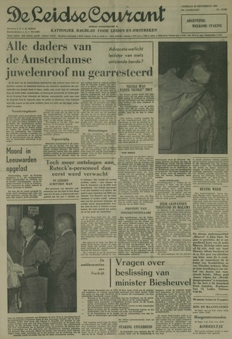 Leidse Courant 1964-09-29