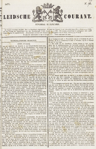 Leydse Courant 1871-01-31