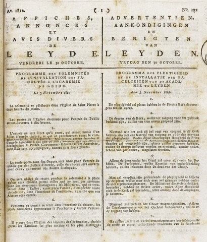 Leydse Courant 1812-10-30