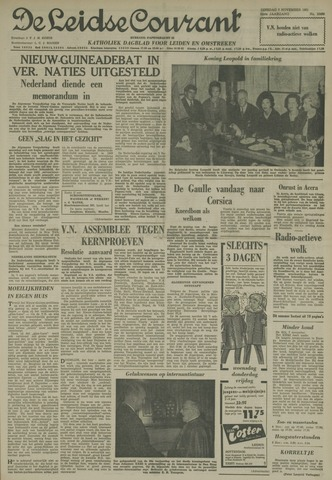 Leidse Courant 1961-11-07