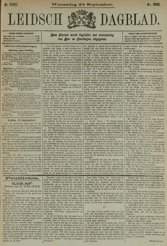 Leidsch Dagblad 1890-09-24
