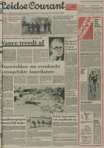 Leidse Courant 1980-04-28