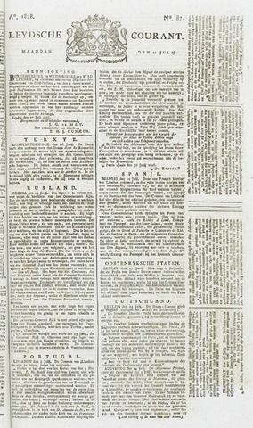 Leydse Courant 1828-07-21