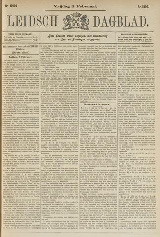 Leidsch Dagblad 1893-02-03