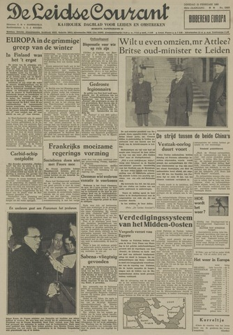 Leidse Courant 1955-02-22
