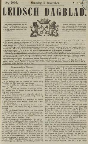 Leidsch Dagblad 1866-11-05