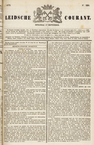 Leydse Courant 1872-09-17