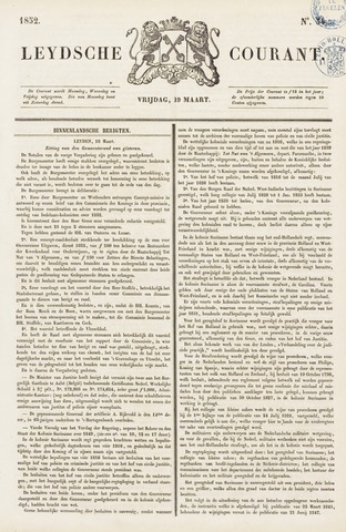 Leydse Courant 1852-03-19