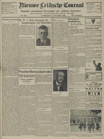 Nieuwe Leidsche Courant 1938-10-06