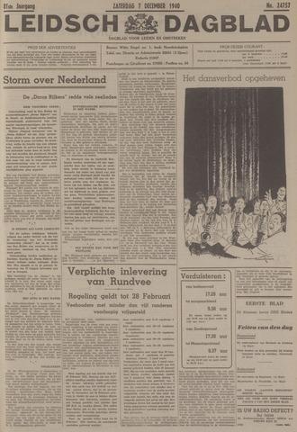 Leidsch Dagblad 1940-12-07