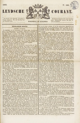 Leydse Courant 1862-08-20