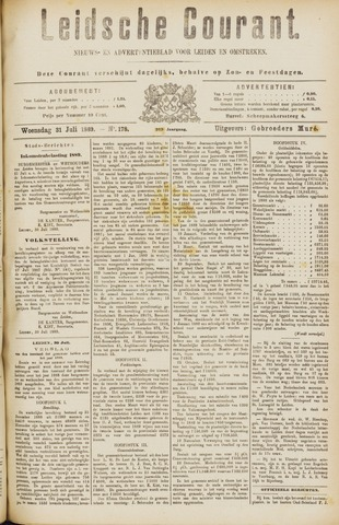 Leydse Courant 1889-07-31