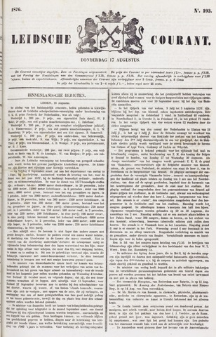 Leydse Courant 1876-08-17