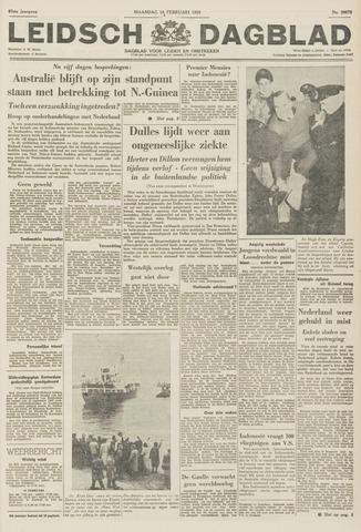 Leidsch Dagblad 1959-02-16