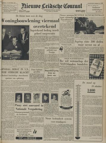 Nieuwe Leidsche Courant 1957-10-19