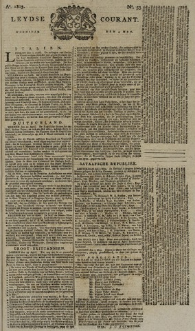 Leydse Courant 1803-05-04