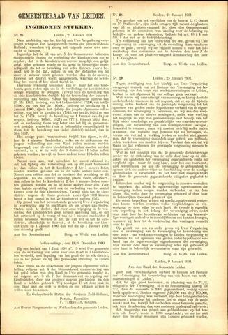 Handelingen van de Raad 1901-01-21