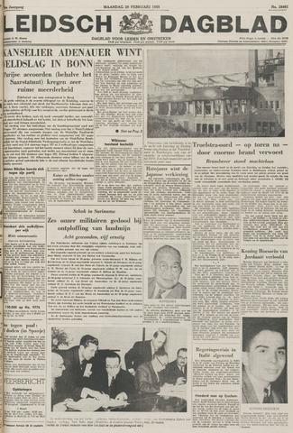 Leidsch Dagblad 1955-02-28