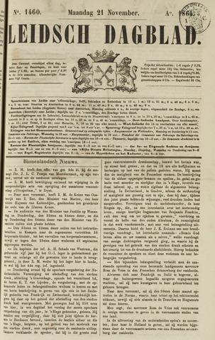 Leidsch Dagblad 1864-11-21