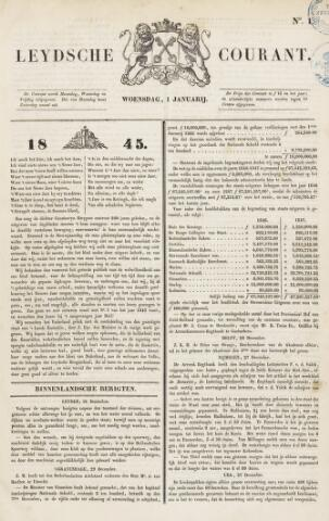 Leydse Courant 1845