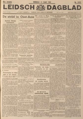 Leidsch Dagblad 1942-03-25