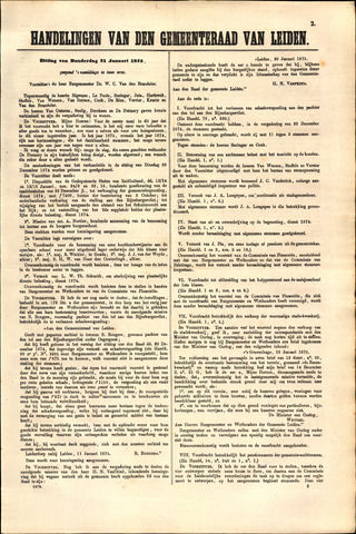 Handelingen van de Raad 1875-01-21