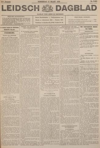 Leidsch Dagblad 1930-03-27
