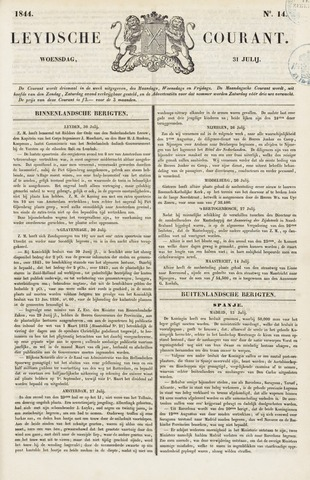 Leydse Courant 1844-07-31